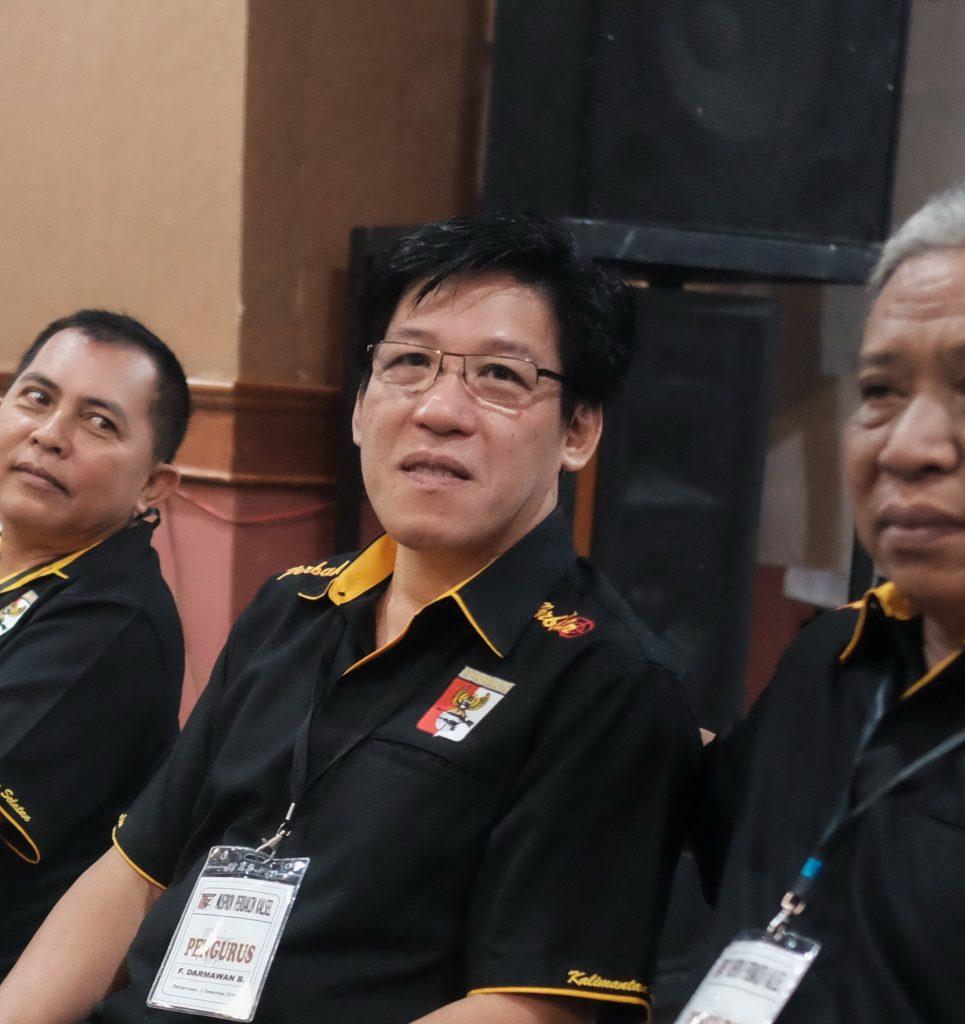 F. Dharmawan Budiman Pelatih Tembak Kalsel