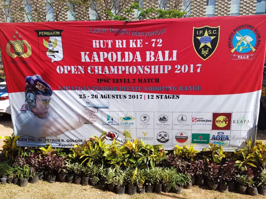 Kejuaraan Menembak Kapolda Bali 2017