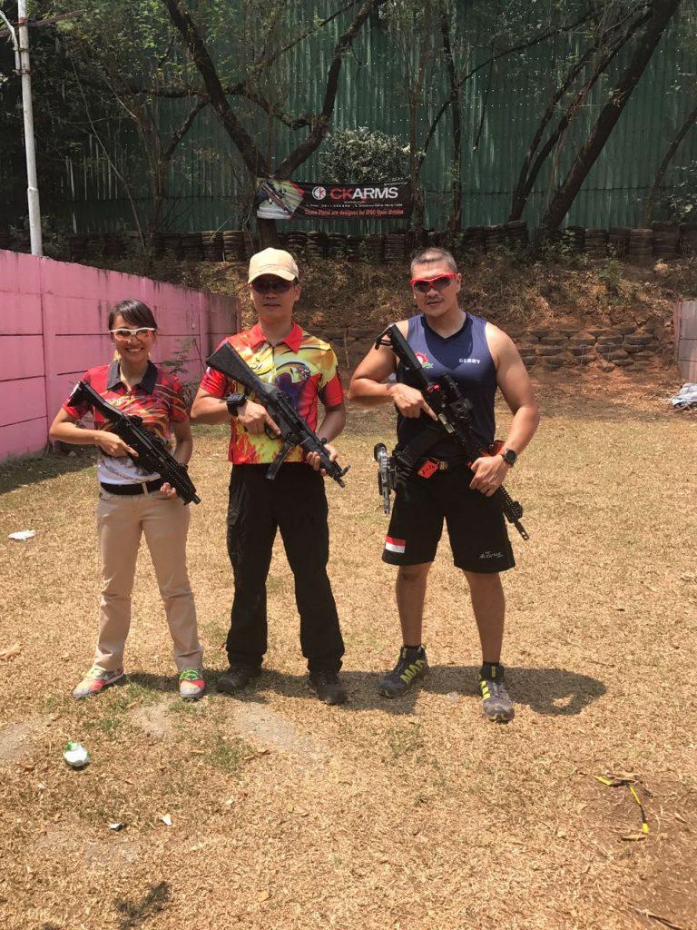 Latih Tanding Para Shooter