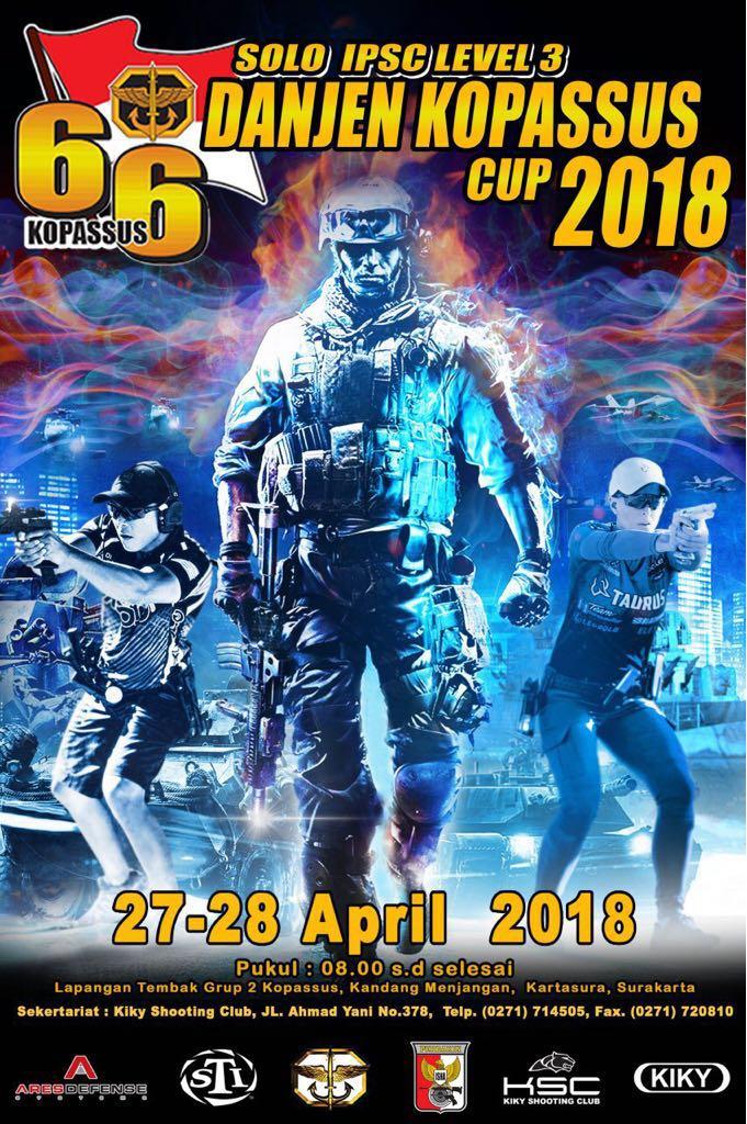 Danjen Kopassus Cup 2018