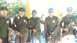 Panitia Maser untuk Acara Kejuaraan Menembak Ikan di Cilangkap 2018