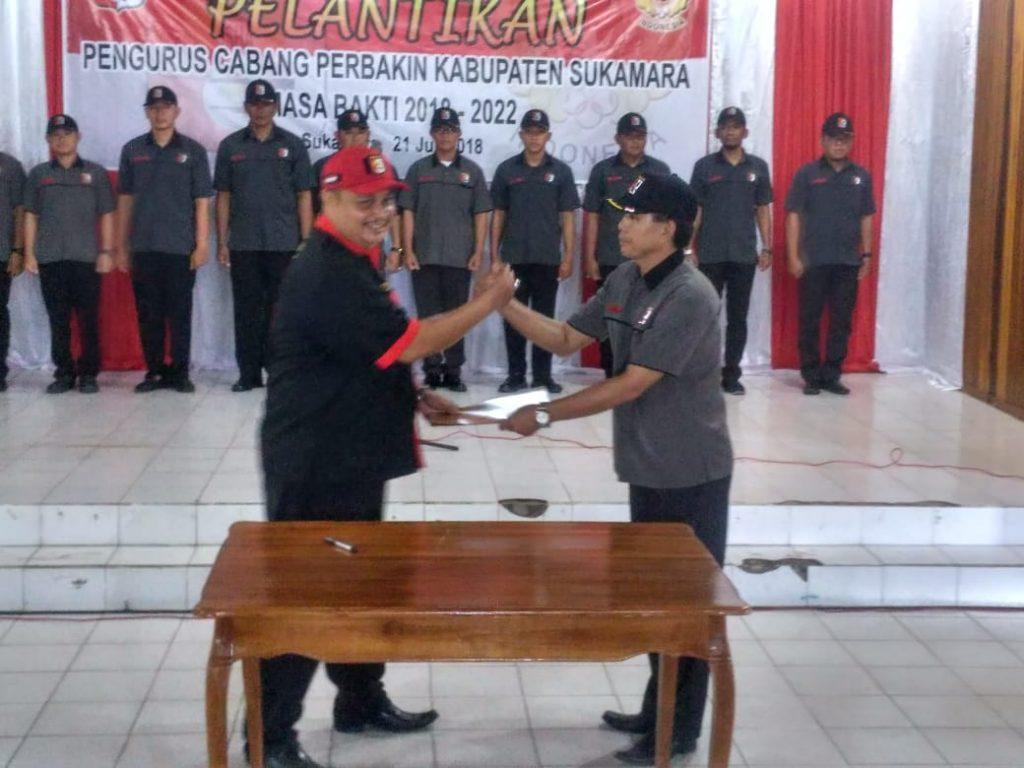 Pelantikan Pengurus Perbakin Kalteng Kab Sukamara 2018 - 2022