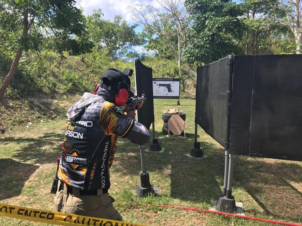 Asep Ruhiyat Juara PCC turnamen menembak Bali 2018