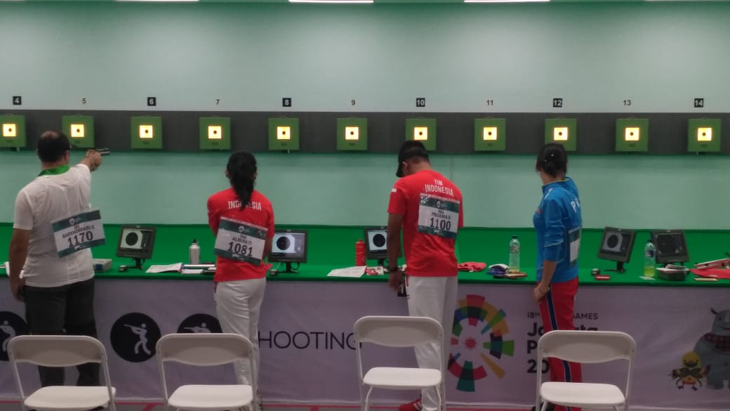 Atlit Menembak Indonesia Asian Games 2018