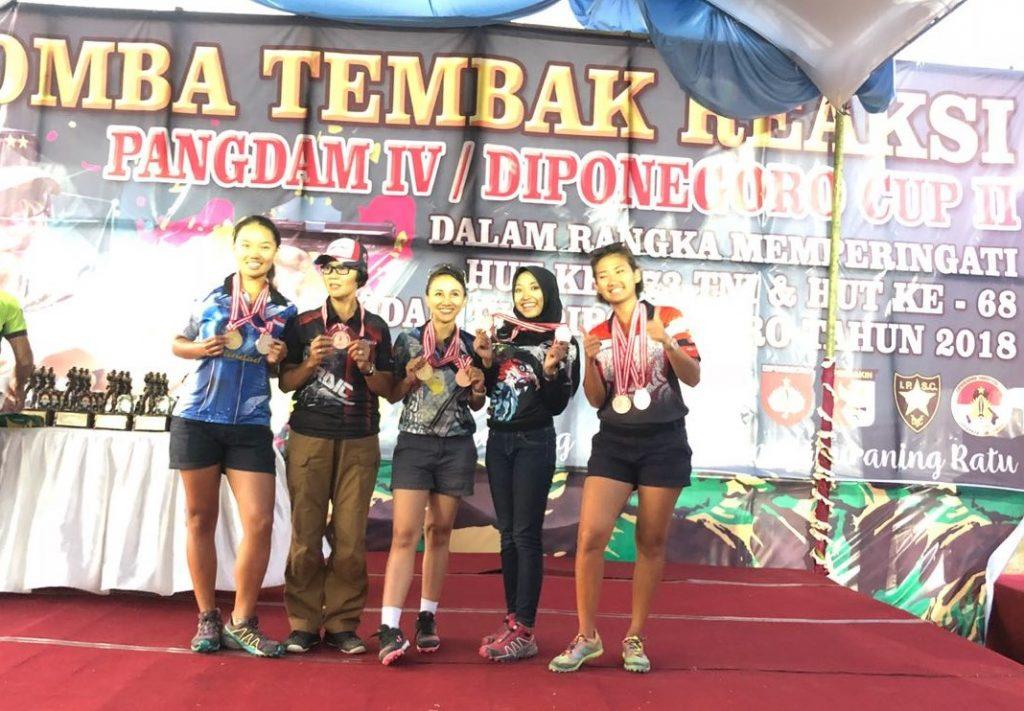 Juara Ladies Pangdam Diponegoro Cup 2018