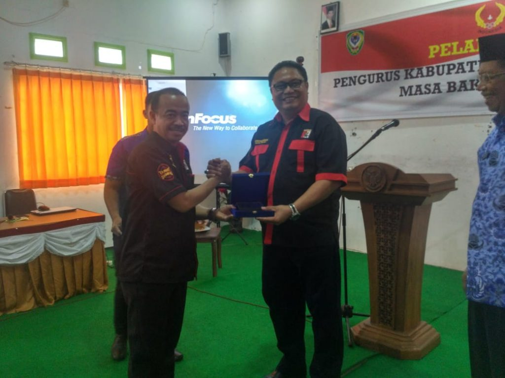 Pelantikan Perbakin Seruyan Kalteng 2018
