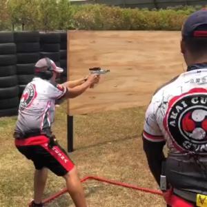 Kresna Shooting Club latihan di PSC