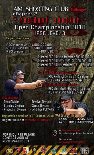 Makasar Open Championship 2018 Level 3