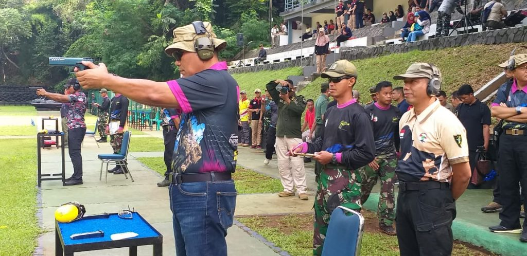 Kejuaraan Menembak HUT Marinir ke 73 di Jakarta 2018