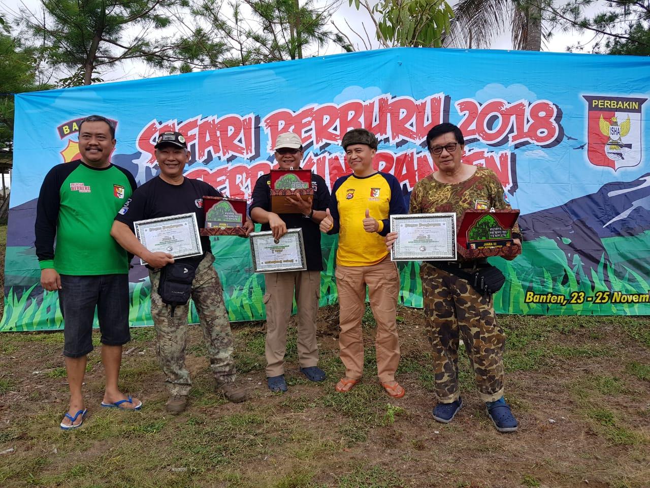 Kejuaraan Menembak HUT Marinir ke 73 di Banten 2018