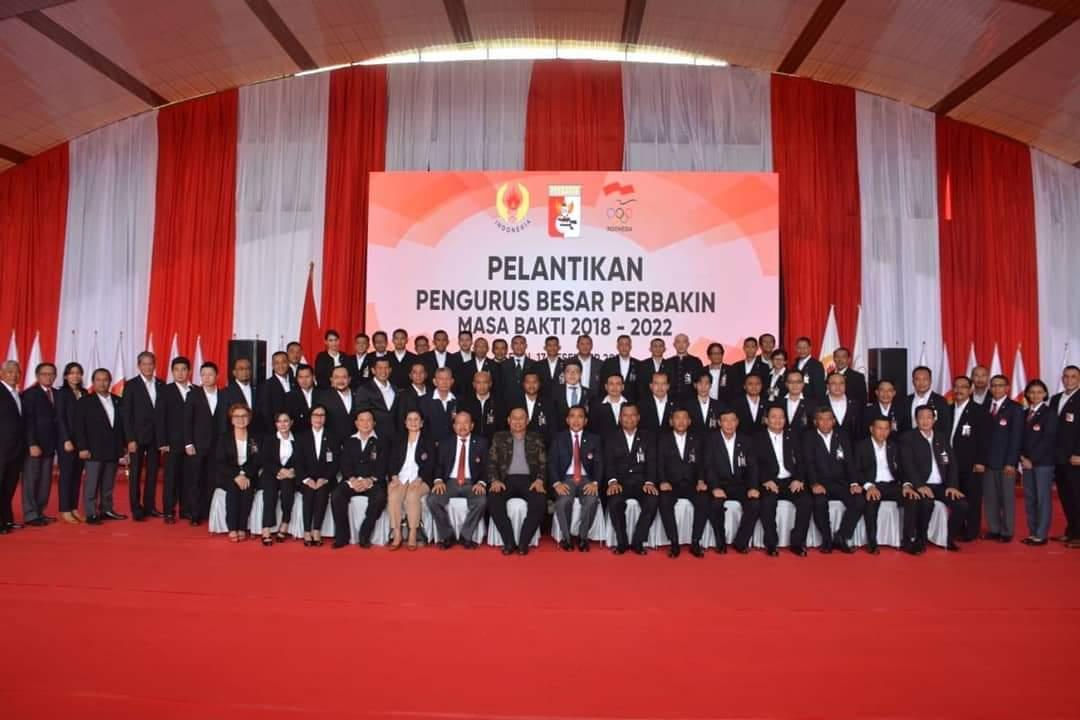 Pelantikan Pengurus PB Perbakin 2018-2022