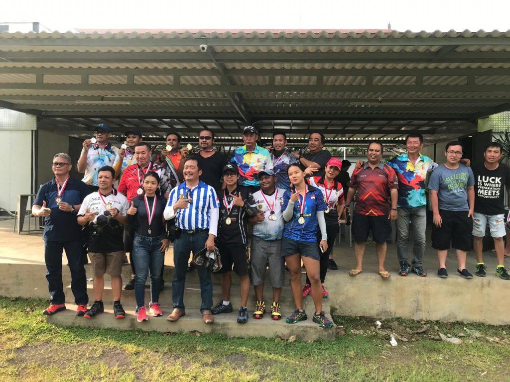 Latihan Bersama Menembak di Pecatu Shooting Club Bali