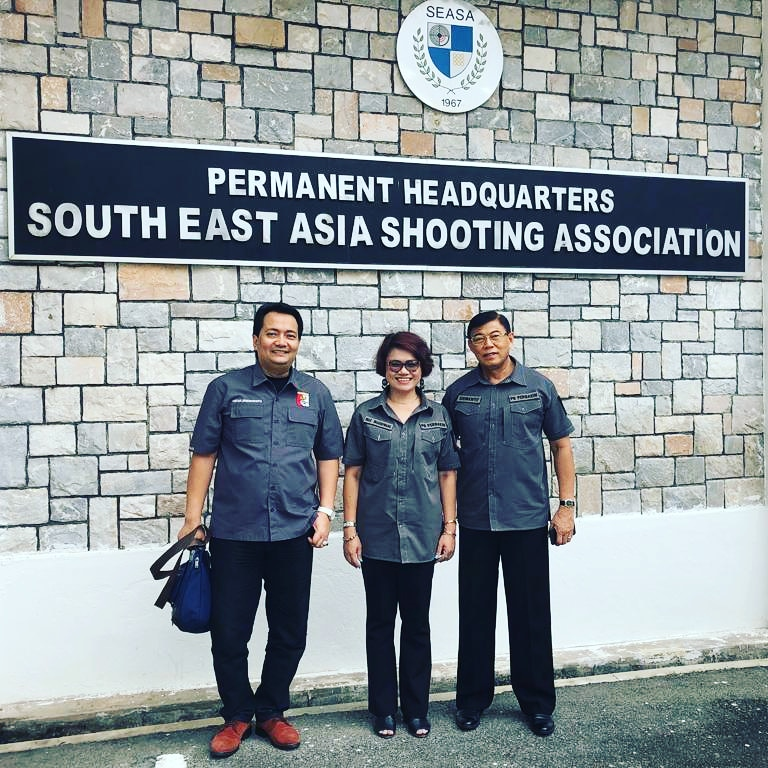 Pertemuan SEASA yang diikuti PB Perbakin di KL