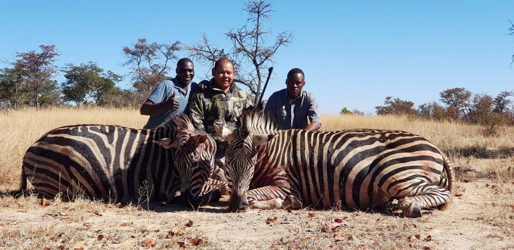 Berburu di Zimbabwe