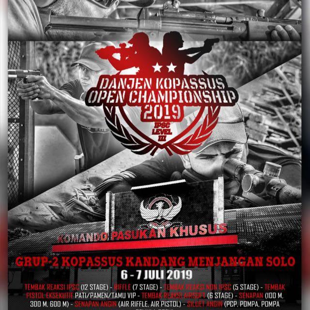 Danjen Kopassus Cup Solo 2019