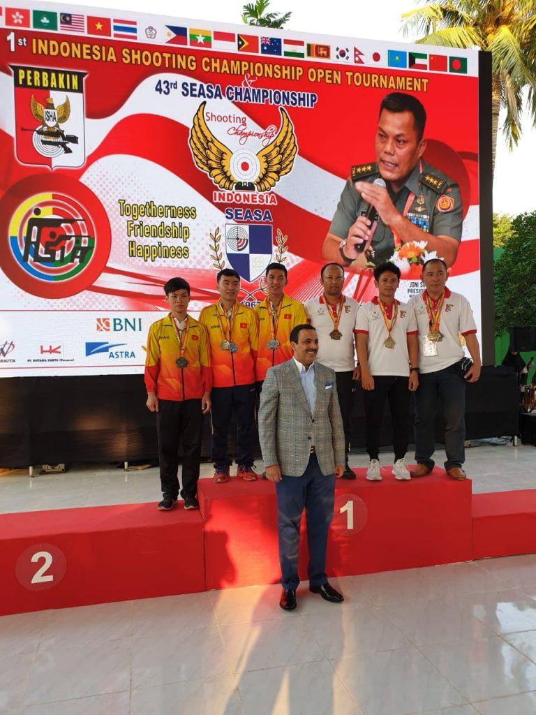 Penganugerahan Medali Juara_SEASA 2019