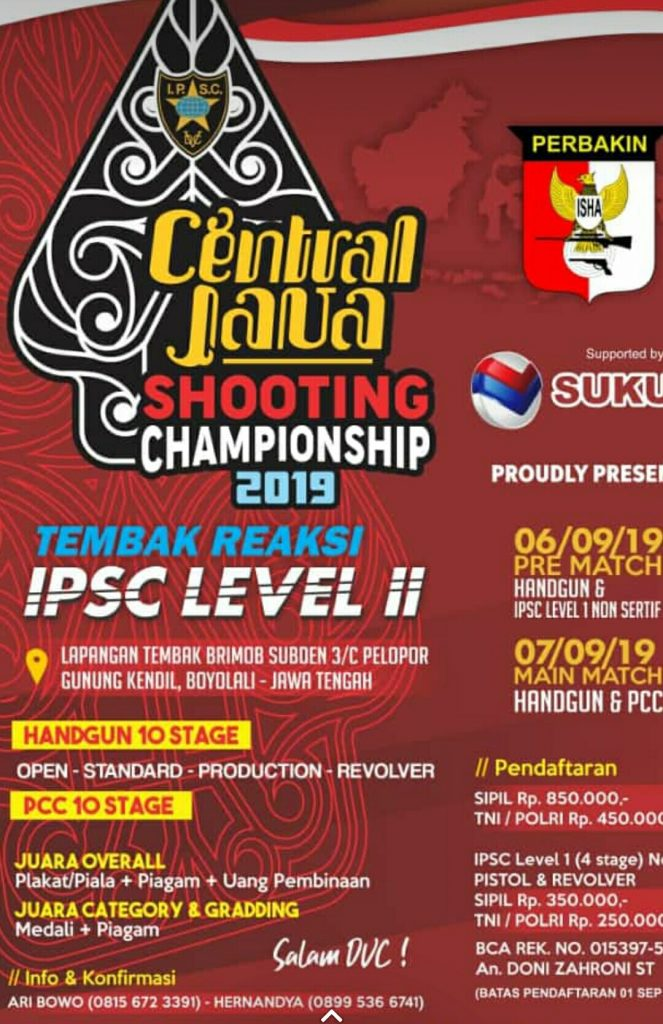 Central Java Shooting Championship 2019