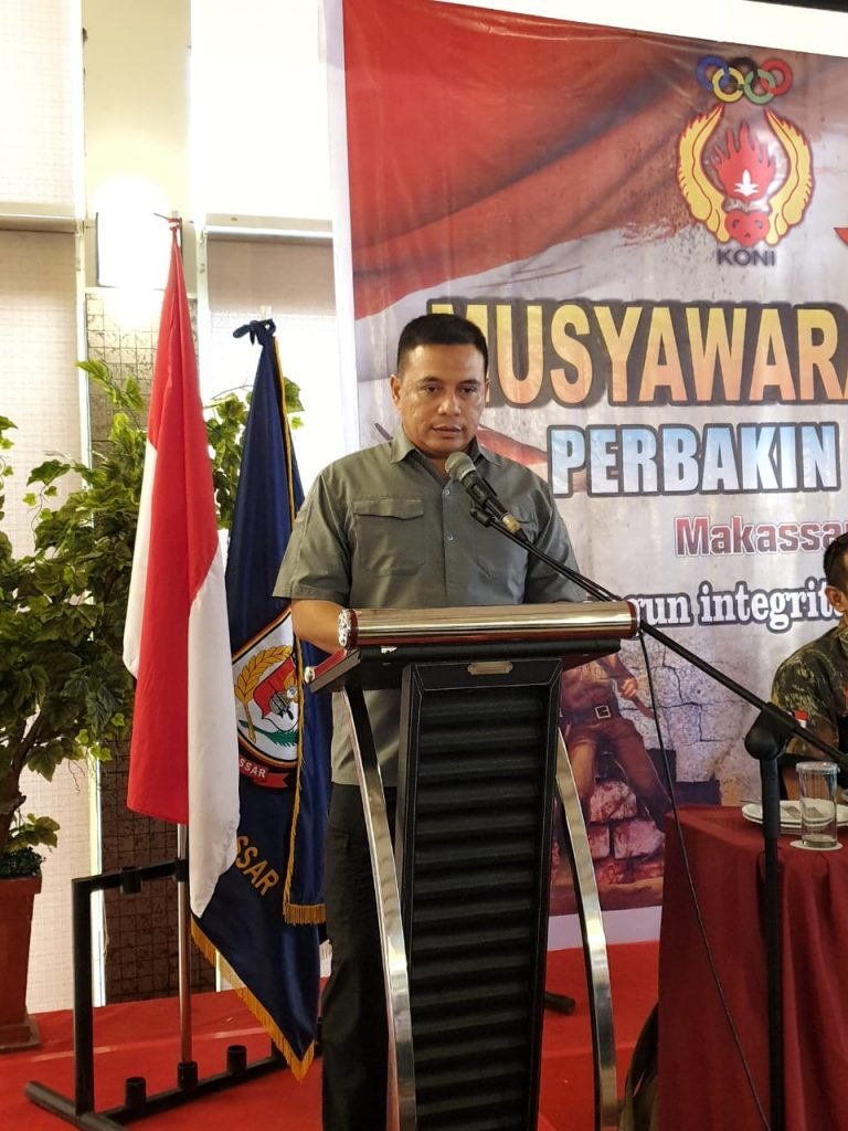 Ketua Perbakin Kota Makassar 2019
