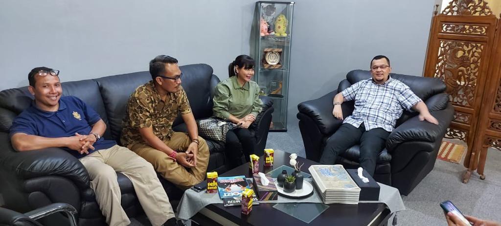 Sriwijaya Shooting Festival 2020_Perbakin Sumsel dan Ketua KONI