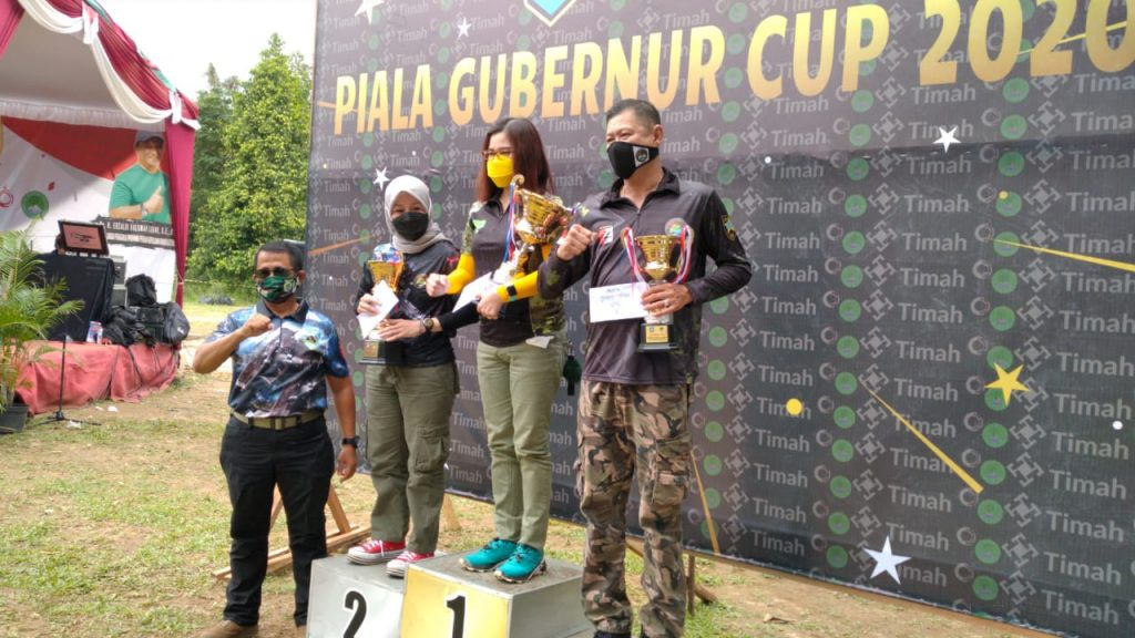 Jayakarta Shooting Club di Kejuaraan Piala Gubernur Babel 2020
