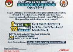 Brimob dan IPSC Gelar New Year Shoot & Fun 2021