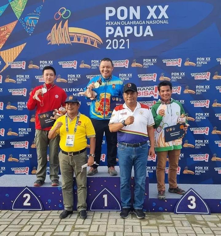 Atlet Eagle SC Juara PON XX Papua 2021