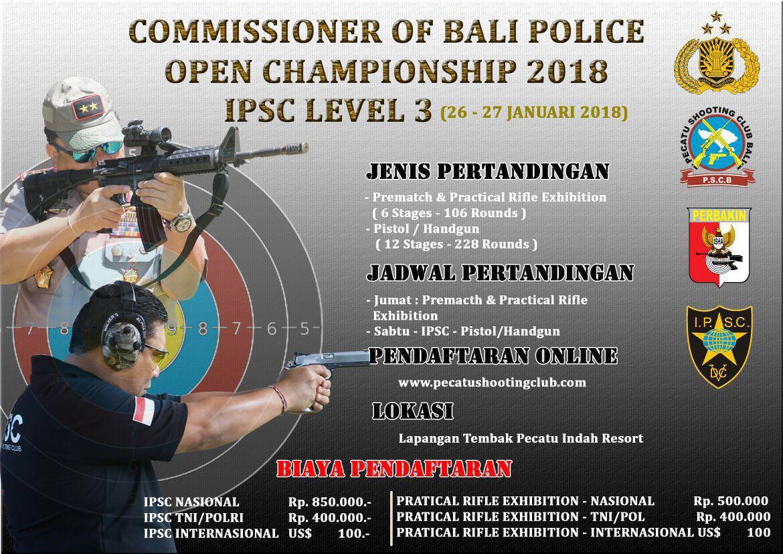 Bali Police Open Championship 2018