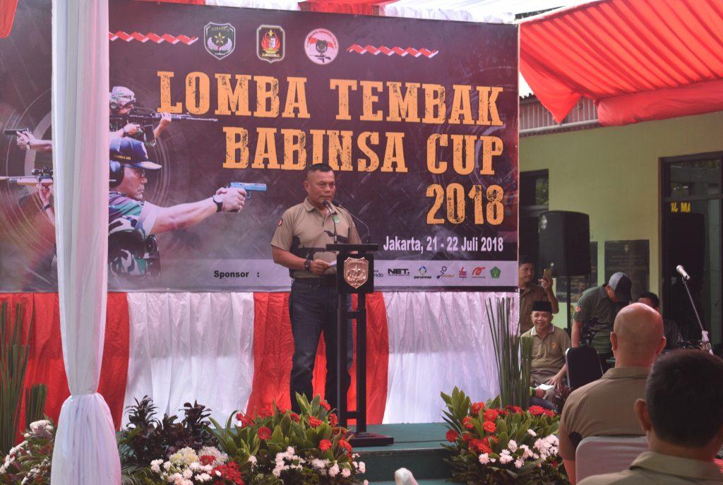 Pangdam Jaya membuka Babinsa Cup 2018