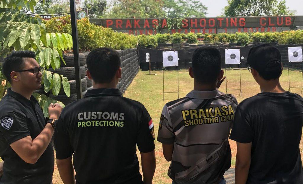 Bea Cukai Soetta latihan menembak di PSC