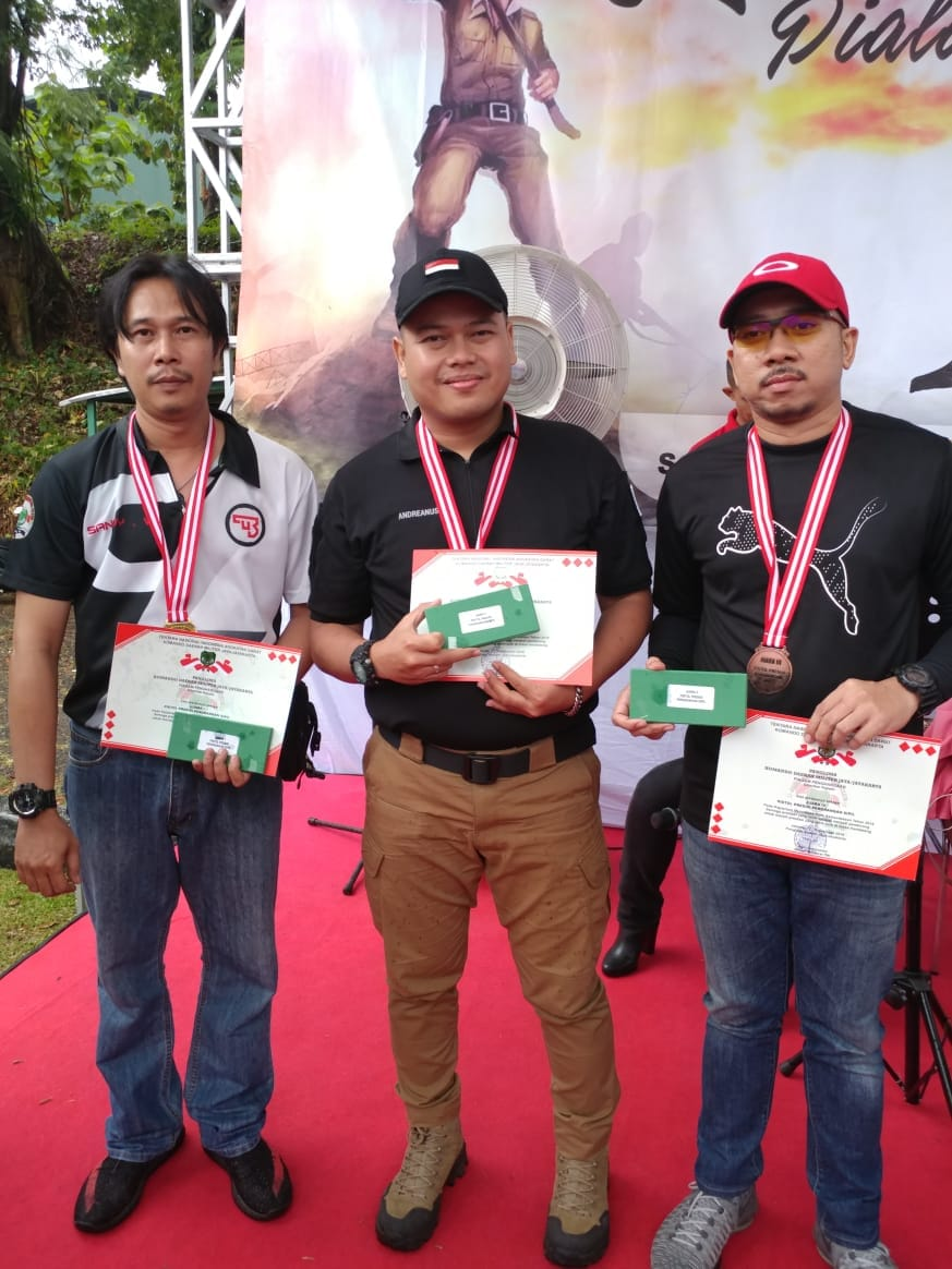 Juara Pangdam Jaya Kemerdekaan Cup 2018