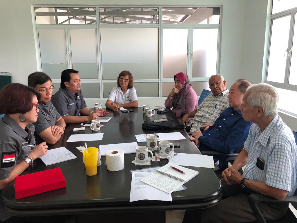 Pertemuan SEASA yang diikiti PB Perbakin di KL