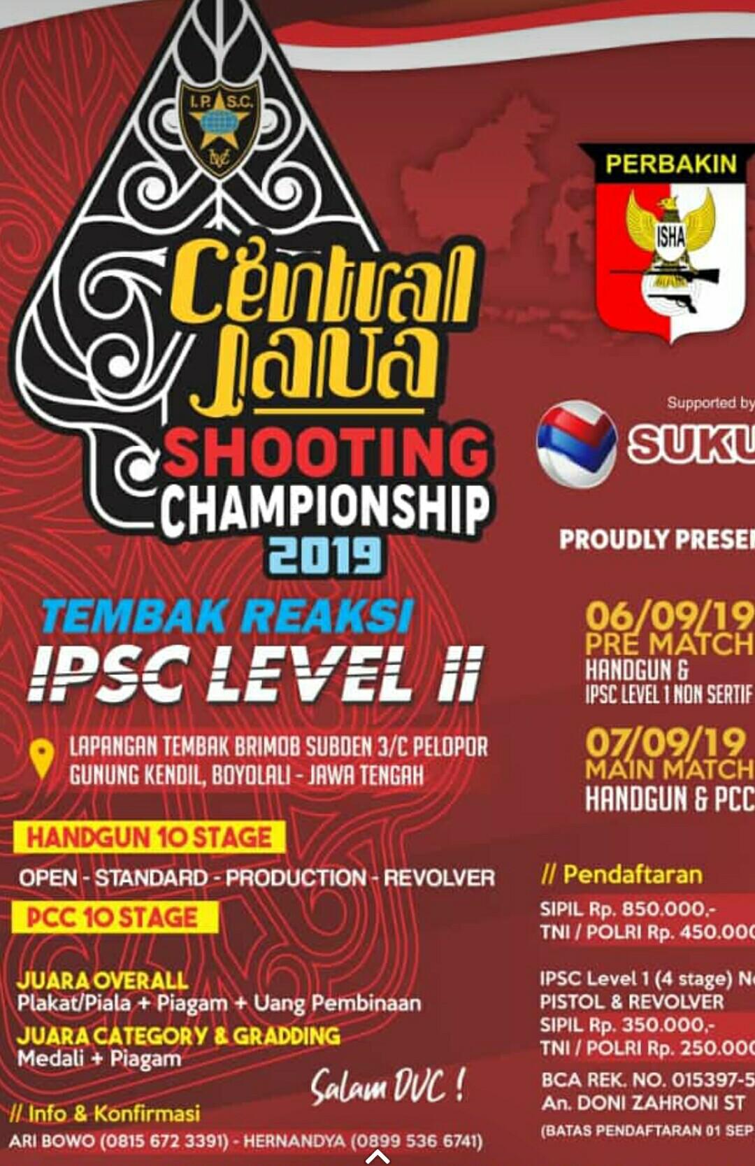 Central Java Shooting Championship 2019