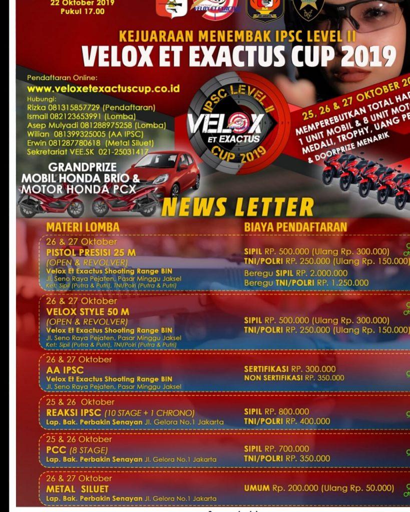 Kejuaraan Menembak Velox_2019