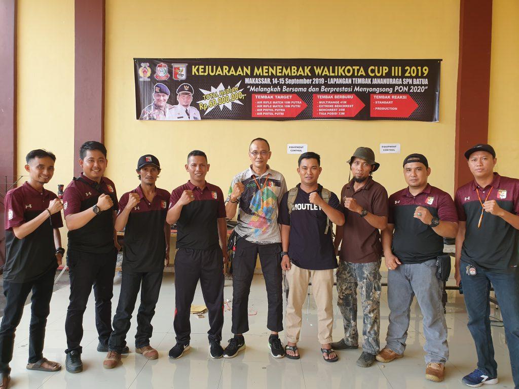 Kejuaraan menembak Walikota Cup Makasar 2019
