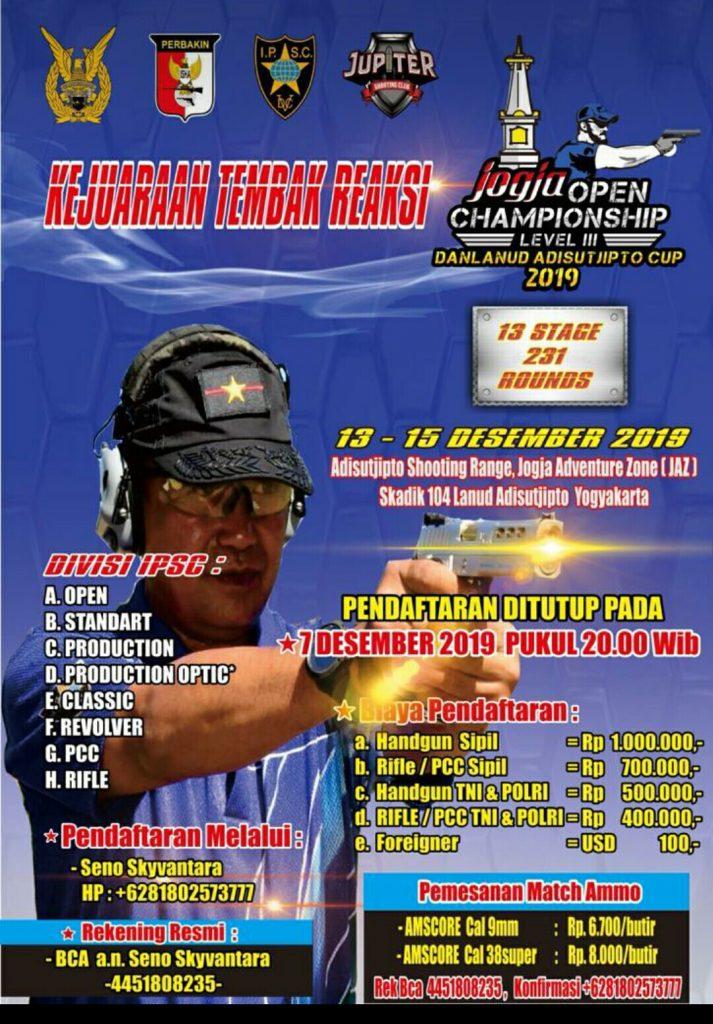 Jogya Open Championship Level III_2019