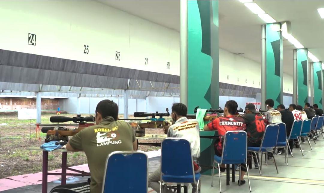 Latihan Menembak Anak-Anak_Palembang