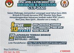Brimob dan IPSC Gelar New Year Shoot & Fun 2021